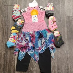 Lil Girls Outfit(FREE SOCKS)